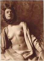 1920s Vintage German Female Nude Model Art Deco Smith Photo Gravure Print
