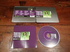Toto - Greatest Hits Steelbox CD Perfetto