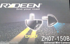 Rydeen ZH07-150B DUO Mini Backup Camera Night Vision CMOS IV Park Line Metal New