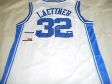 Christian Laettner autographed Duke jersey With COA Signed by Blue Devils Legend