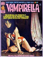 VAMPIRELLA #54 The Blood Ball Prediction! Warren Magazine ~ FN