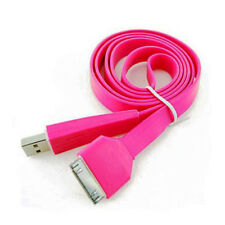 USB Car Charger & Data Charging Sync Cable  For iPhone 3 3G 3GS 4 4S iPod