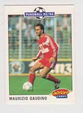 Panini Fussball 92-93 Action Cards #208 Maurizio Gaudino VFB Stuttgart