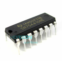 10PCS SN754410 SN754410NE IC HALF-H DRVR QUAD 16-DIP NEW AND GOOD