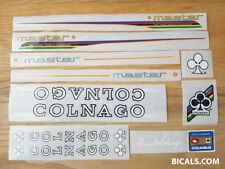 COLNAGO MASTER V1 set, decal sticker for bicycle - silk screen - free shipping