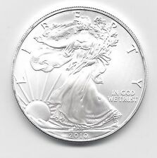2010 - 1 oz American Silver Eagle Coin - One Troy oz .999 Bullion