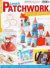 Lena`s Patchwork 34/2014 EASY STICKEN Kissden Taschen Schmuck Naschwerk Anhänger