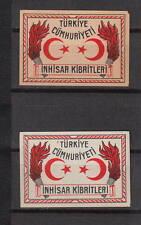 Ancienne  étiquette   allumettes Suède  AZ3239 Turquie Turkey