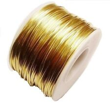 beautiful golden color! 10 FT Low Brass for wire wrapping 22G Round DS