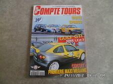 COMPTE TOURS N°89 15/05/1997 GOLF GTI SERIE 1 2 ET 3 D8