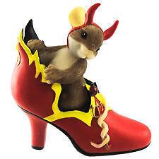 Charming Tails Devils Shoe NIB Free Shipping #4023631