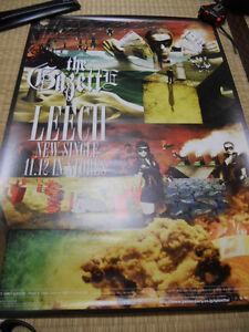 the GazettE [LEECH]NEW! promo POSTER JAPAN LIMITED!!!!