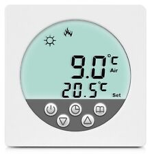 Digital Thermostat Raumthermostat Fußbodenheizung Wandheizung LED weiß      #a34