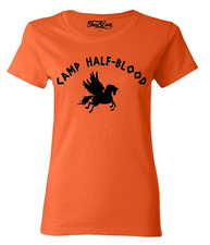 Camp Half Blood Women's T-Shirt Long Island Camp Jupiter Greek Mythology Tees