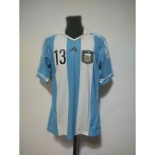 Argentina soccer jersey Adidas Formotion 2011-2013 Size L match worn