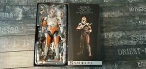 Sideshow Collectibles - Star Wars - Bomb Squad Clone Trooper - Hot Toys Scale