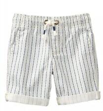 NWT Gymboree TRUE BLUE SUMMER Boys Blue White Geometric Shorts Size 10