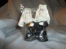 """1996 Roman Wooden Nuns Catholic Religious Spiritual 5.5"""" Figure"""