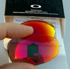 OAKLEY JULIET X-METAL RUBY IRIDIUM CUSTOM AUTHENTIC REPLACEMENT LENSES RARE CUT