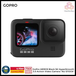 GoPro HERO9 BUNDLE - Black 5K HyperSmooth 3.0 Action Cam *AU STOCK*