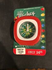 Disney Sailor Mickey Alarm Clock Macys Christmas Department 964 2009 Replacement