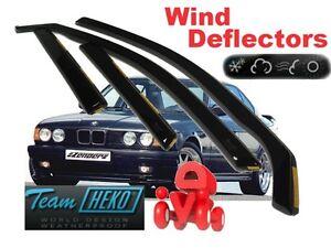 Climair Viento desviadores de coche BMW X5 F15 2013 en Adelante Trasero Par Nuevo