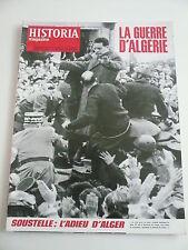 HISTORIA mag LA GUERRE D'ALGERIE n°211 TALLANDIER. L'Algérie souffrante et aimée