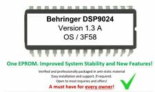 Behringer DSP9024 Version 1.3A Update Firmware Upgrade Eprom or convert DSP8024