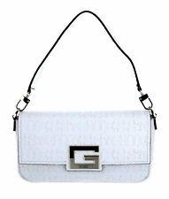 GUESS Brightside Shoulder Bag Handtasche Umhängetasche Tasche White Weiß Neu