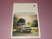 VOLKSWAGEN California camping-car brochure catalogue - édition 09/2009 Français