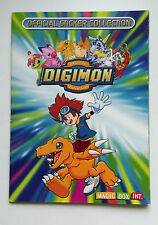 Digimon Rare Magic Box Int Sticker Album Book From 2000