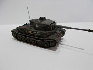 1:76 WW2 BUILT & PAINTED GERMAN VK 45.01 (P) HEAVY TANK