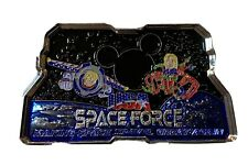 Unofficial Disney World Space Force Trump Silver Challenge Coin