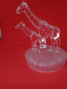 Royal Crystal Rock - RCR - Italian Art Glass Giraffes