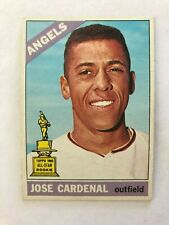 1966 Topps #505 Jose Cardinal California Angels Baseball Card Very High Grade