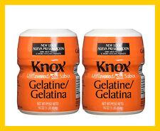 2x Knox Original Gelatin Unflavored 16 oz Cans