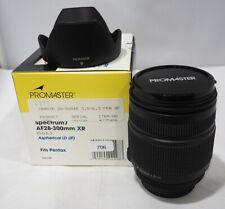 Promaster Tamron AF 28-300mm f/3.5-6.3 f/ Pentax Film / Digital - NOS #706