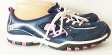 Womens Skechers Sport Navy Pink Sneakers Shoes Size 9 US 39 EUR Medium