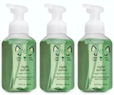 Bath & Body Works RIGHT MEOW Foaming Hand Soap APPLE HIBISCUS x 3 Lot