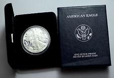 2002-W 1 Oz Fine Silver Proof US Coin American Silver Eagle Dollar Unc  in BOX