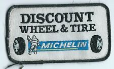 Discount Wheel & Tire employee patch 2-1/2X4-1/2 McAlester OK Michelin #1916