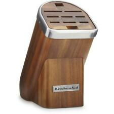 KitchenAid Professional Series Cutlery Block - KKFMA01AA - Acacia Wood
