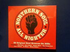 NORTHERN. SOUL.  ALL. NIGHTER.     3 CDs.       -  60 original soul grooves