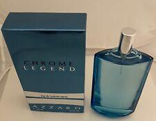 Chrome Legend by Azzaro  Eau de Toilette Spray 4.2oz/125ml For Men.