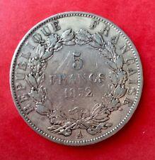 France - Louis Napoleon Bonaparte - Très Jolie 5 Francs 1852 A - (3)