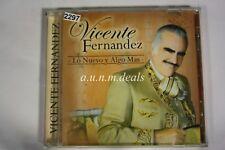 Vicente Fernandez Lo Nuevo Y Algo Mas Music CD