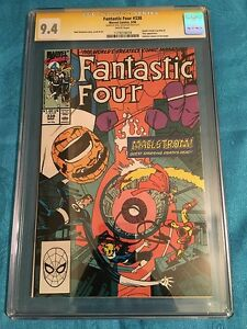 Fantastic Four #338 - Marvel - CGC SS 9.4 NM Signed by Walt Simonson