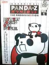 Panda-Z: The Robomation - Vol. 1 (DVD, 2005, Collector's Edition) WORLDWIDE SHIP