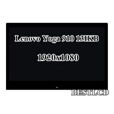 "13.9"" Lenovo Yoga 910 13IKB 80VF LCD Screen Touch Digitizer Assembly B139HAN03.2"