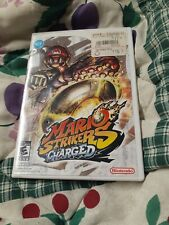 Mario Strikers Charged (Nintendo Wii, 2007) Complete